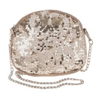 Gold Sequin Shoulder Bag - The Perfect Size